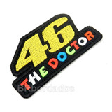 Log283 The Doctor 46 Rossi Macac�o Moto Gp Patch Br Bordados