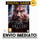 Lords Of The Fallen Goty Ed  Cd key Steam Pc Envio Imediato