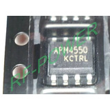 Lote 2 Pe�as Apm4550 Mosfet Smd Sop8 Tv Lcd  Led Original