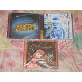 Lote 3 Cds Red Hot Chili Peppers Stadium Arcadium By The Way
