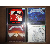 Lote 4 Cds Metallica   Kill   Ride   Master   And Justice