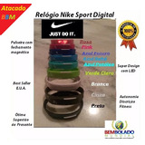 Lote Rel�gio Pulseira Nike Digital Original Led Fit Atacado