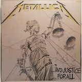 Lp Duplo Metallica      and Justice For All   1989