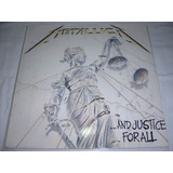 Lp Metallica   And Justice For All 1st Press 88 Importado
