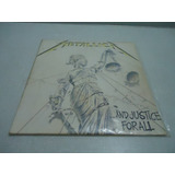 Lp Metallica And Justice For All Duplo Zerado