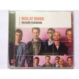 Men At Work Seleção Essencial Cd Lacrado  Sony Music
