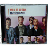 Men At Work Seleção Essencial Cd Original Novo Lacrado