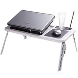 Mesa Notebook Table Dobravel Portatil Suporte Cooler Usb Pc