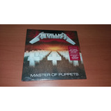 Metallica   Master Of Puppets  cd Lacrado   paper Sleeve