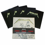 Metallica       And Justice For All   4 lp Box