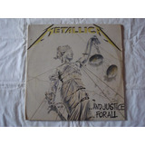 Metallica lp vinil and Justice For All trash heavy hard rock