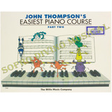 Método John Thompson's Easiest Piano Course Parte 2 C/ Cd