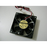 Micro Ventilador 80x80x25mm Fan Cooler 48 Volts Dc Rolamento