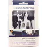Microfone Lapela   Atr 3350is Audio technica   P  Smartphone