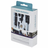 Microfone Lapela Atr 3350is Audio technica Smartphone Camera
