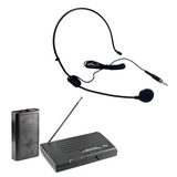 Microfone Sem Fio Profissional Auricular Headset Sound Pro