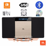 Microsystem Slim Jbl Bluetooth Cd Mp3 Despertador Lançamento