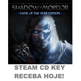 Middle Earth: Shadow Of Mordor Goty Pc Código Cd Key Steam