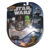 Mighty Beanz 2010 Star Wars Starter Pack Definido 4 Beanz
