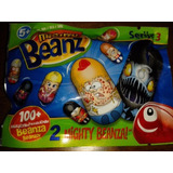 Mighty Beanz Sache Com 2 Personagens   Série 3
