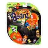 Mighty Beanz Serie 4    Blister Com 6 Feijoes
