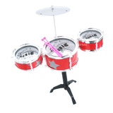 Mini Bateria Musical Infantil Jazz Drum Original Instrumento