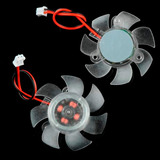 Mini Cooler Ventilador Placa De V�deo Vga 45mm 12v Pc Cpu