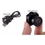 Mini Micro Camera Espia Dv Fimadora Hd 720p Menor Do Mundo
