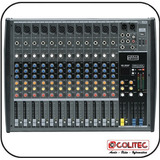 Mixer Mesa De Som 12 Canais Usb sd Mark Audio Cmx12 usb