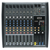 Mixer Mesa De Som 8 Canais Usb sd Mark Audio Cmx08 usb