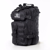 Mochila T�tica Assault Preta Paintball Airsoft Tactical