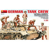 Modelo Soldiers   Tanque Alem�o Crew & 39;afrika Korps 1:35