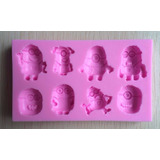 Molde Silicone Minions Para Biscuit  Chocolate Etc no Brasil