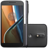 Motorola Moto G4 Xt1626 Preto   Tv Digital Hd