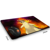Mouse Pad Pokemon Typhlosion  29 Cm