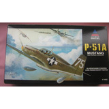 Mustang P51 A Maquete Aviao Plastimodelismo 1 48