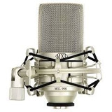 Mxl 990 Condenser Microphone With Shockmount Microfone