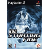 Nba Startinh Five Ps2 Original Usado