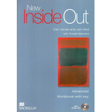 New Inside Out Advanced Wb With Key   Audio Cd