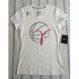Nike Blusinha Academia Dry fit Cotton Tee   T shirt Branca