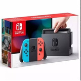 Nintendo Switch 32gb Colorido Neon Original Na Caixa