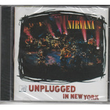 Nirvana   Cd Mtv Unplugged In New York   Lacrado