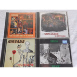 Nirvana Incesticide Unplugged Bleach From The Muddy   4 Cd s