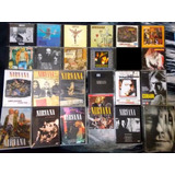 Nirvana Kurt Cobain Seattle Lote Cds Livro Dvds   1 Brinde