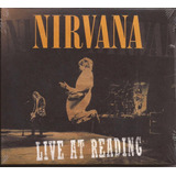 Nirvana Live At Reading Novo Lacrado Cd Ao Vivo Import Eua