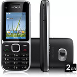 Nokia C2 01 Novo 3g 3 2mp Bluetooth Fm Mp3 2gb Novo Na Caixa