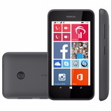 Nokia Lumia 530 Preto Dual Chip Windows 8 1 4gb 5mp Lacrado