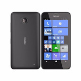 Nokia Lumia 635 8gb Tela 4 5  5mp Windows Phone 8 1   Preto