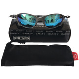 110ded26b0544 Óculos Oakley Juliet Double X X Metal Squared Penny Ice Azul