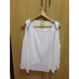 On Sale  Blusa Lan�a Perfume Nova Off White